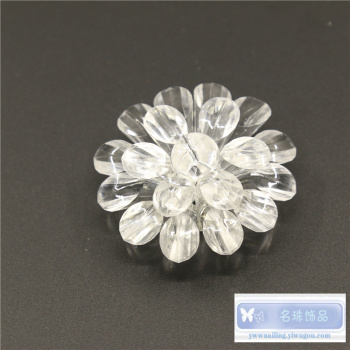 Lighting accessories decorative crafts jewelry handmade crystal flower pendants