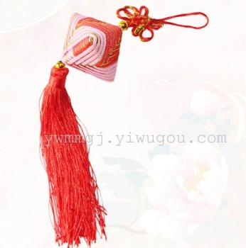 纯手工端午节中国结香包香囊礼品饰品粽子大香囊香袋挂件饰