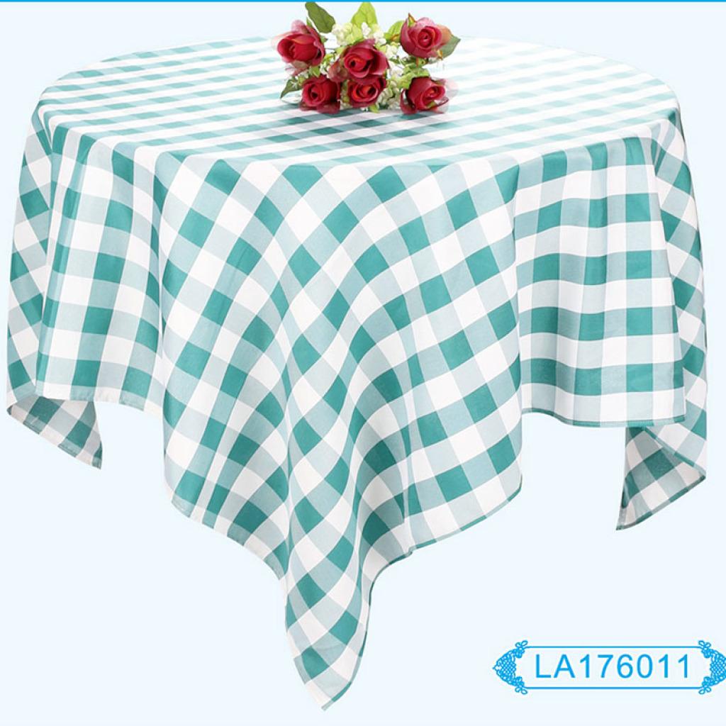 凡酒店用品定做欧式酒店台布圆桌餐桌布宴会餐饮桌布