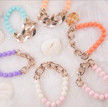 2015 popular explosive bracelet bracelets candy color European style bracelets