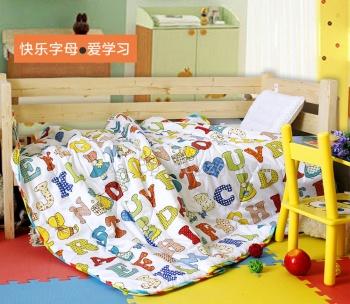 迎鹤正品 幼儿园专用儿童被子 儿童夏被空调被 幼儿园空调被子
