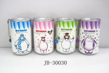 New elegant white cartoon series portable 30-piece removable Cola cans wipes