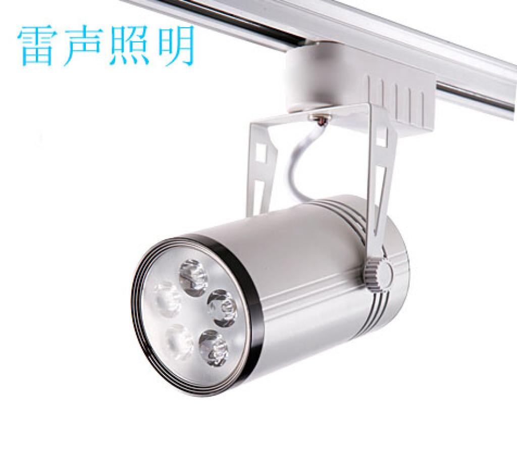 led射燈5w明裝軌道燈 服裝射燈客廳過道燈燈