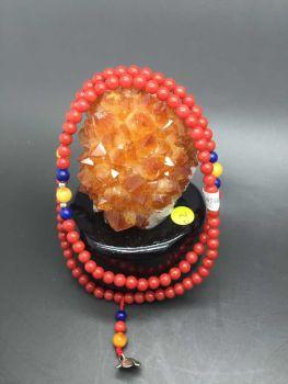 Japan akahong coral beads bracelets
