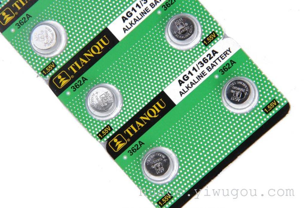 天球金装ag11纽扣电池 lr721电池批发