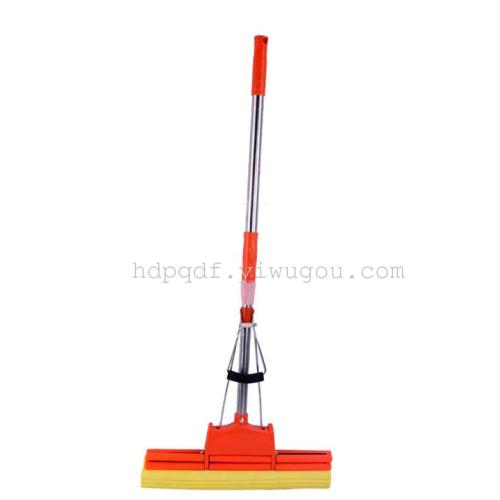 Factory wholesale mop water 38squeezing mop mop PVA double rolling mop