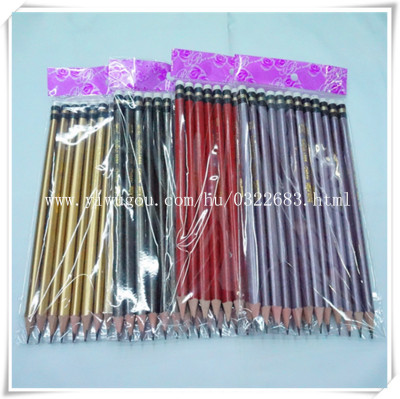 High-grade leather HB pencils sharpened pencil-free foreign trade spot wholesale