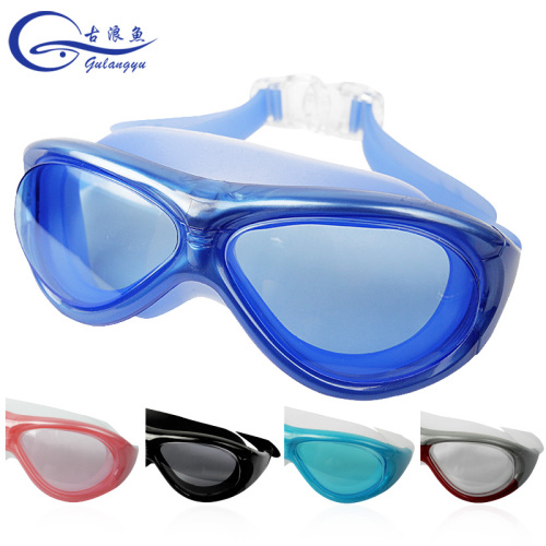 8e117f589322 Authentic gulang fish goggles men and women large-frame waterproof fog-proof  hd swimming