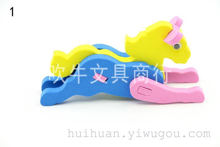 产品名称:eva小动物拼图 装箱数量:360(可混) 产品材料:泡沫 纸 装箱