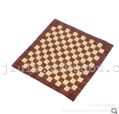 Supply square bamboo car cushion summer cool and comfortable bamboo cool mat square pad car