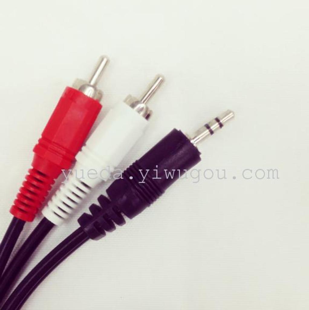 电视电脑音箱连接线 3.5av连接线