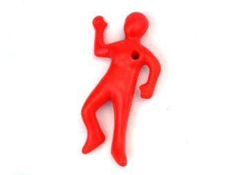 笔筒笔座搞怪笔架 特色办公用品 红色小人笔插