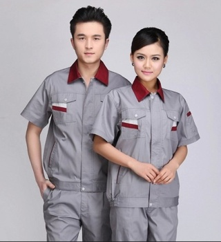 Summer clothes suit men's protective clothing in summer auto repair clothing summer dresses