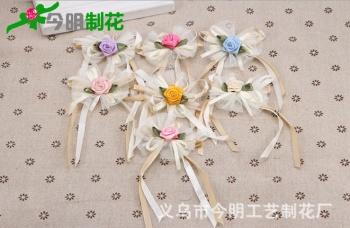 Korean flower home textile accessories clothes crafts DIY Handmade flowers