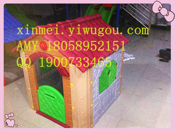 Blow molding farm cottage amusement equipment toys children play house kindergarten