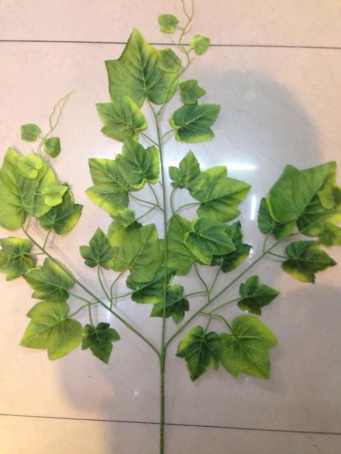 仿真植物 假花树枝 装饰造景 园林绿化 银杏叶