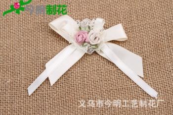 Korean flower accessories clothes crafts DIY hand  2202
