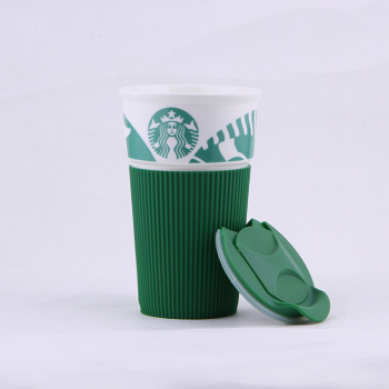 Ceramic glass insulating ceramic Cup of Starbucks creative mark daily cups of coffee cups