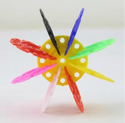 400片袋装智力雪花片积木/儿童创意拼插塑料积木s_ 苏