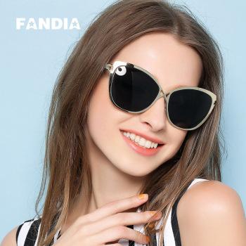fandia 96879 новая большая коробка - хорошо ретро - солнцезащитные очки