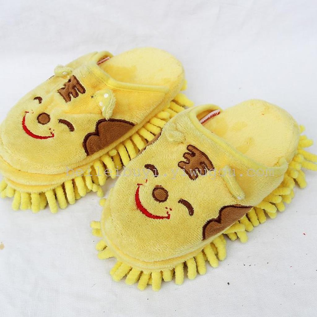 販売貿易株式シェニール子供創造的なスリッパをホーム クリーニング靴レジャー ブランド メーカー