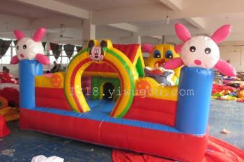 Manufacturers selling inflatable castle slide inflatable jumping Castle naughty Fort trampoline inflatable toys