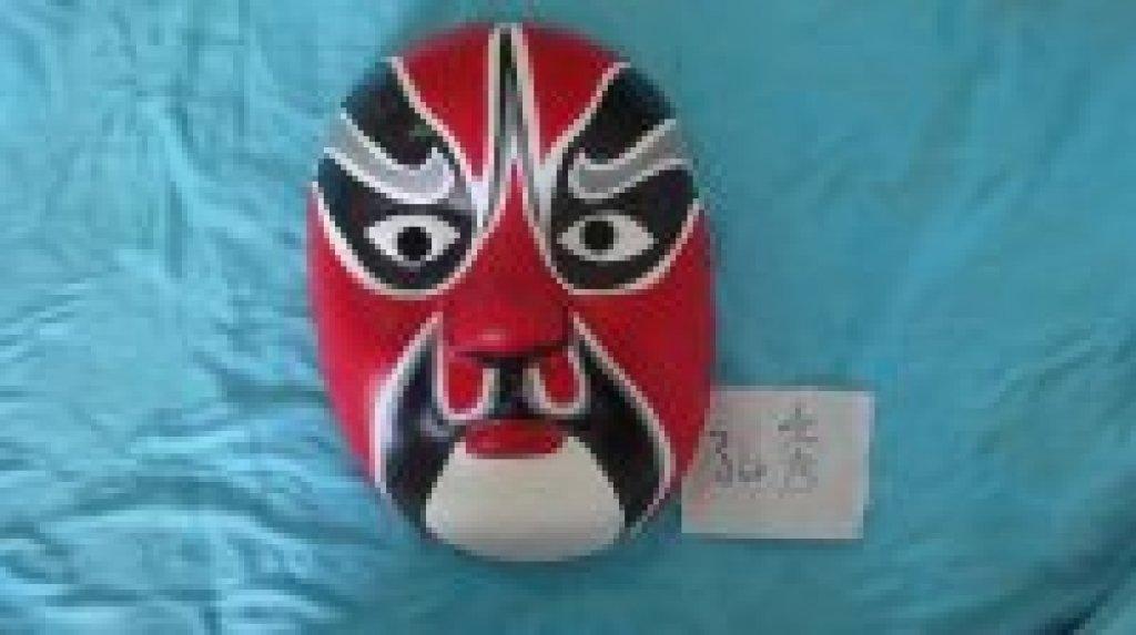 儿童面具彩绘背景板设计 儿童面具彩绘背景板设计分享展示
