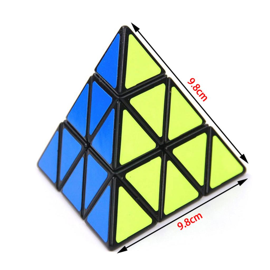 泛新正品三角魔方金字塔魔方异形魔方比赛专用带教程