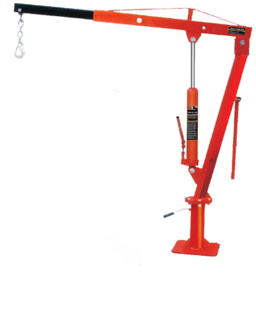 长臂皮卡吊机 手动液压小吊机 吊运机 提升机图片