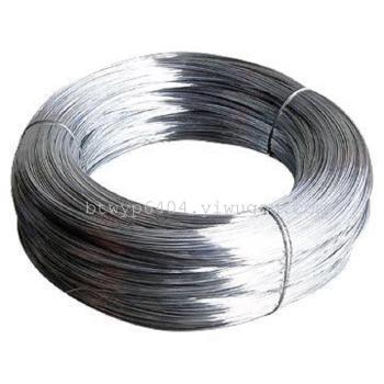 Galvanized wire  or  galvanized iron iron wire