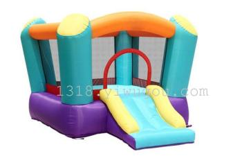 Manufacturers selling inflatable inflatable toy Castle naughty Fort jump trampoline jumping fun slide jump bed football