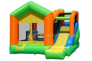 Factory direct inflatable castle naughty Fort jump trampoline jumping fun slide Castle inflatable toys