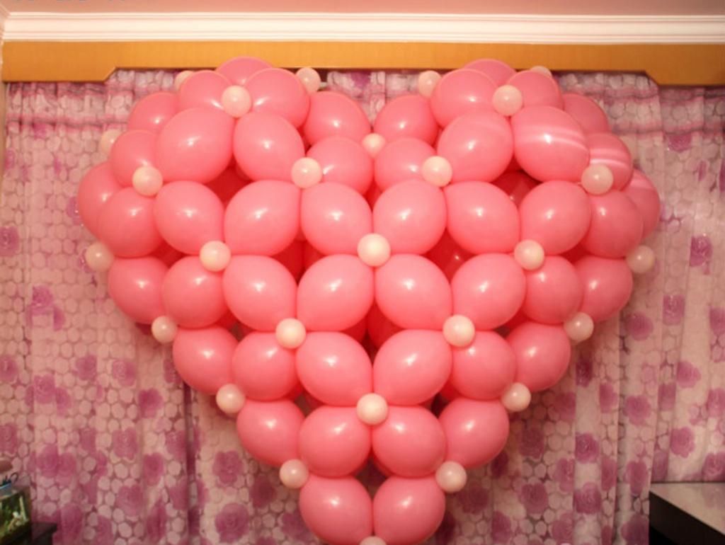 心型,拱门,室外,室内装饰气球