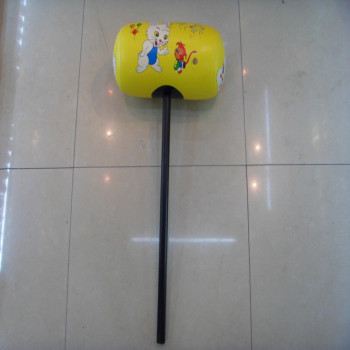 Factory direct card printing 40cm inflatable hammers children PVC inflatable toys wholesale