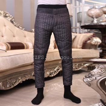 Old warm pants men's 2014 Winter down trousers pants and cashmere for men thickening slim base slacks