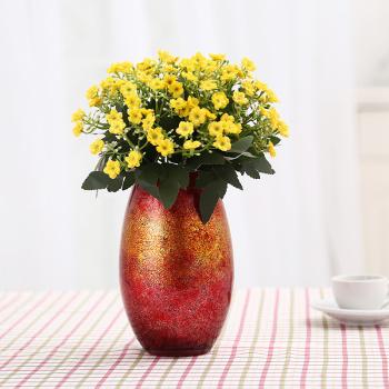 Modern simple European glass vases home decoration soft decoration