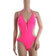 Fluorescent color can be customized Siamese Bikini one-piece bikini