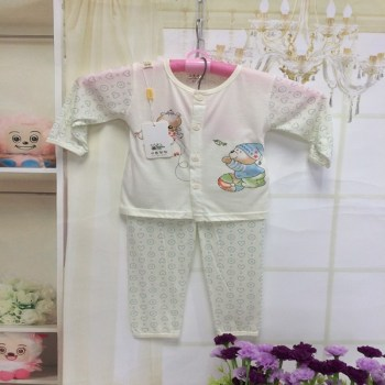 Air conditioning in children of bamboo charcoal fiber baby Pajamas kids clothing
