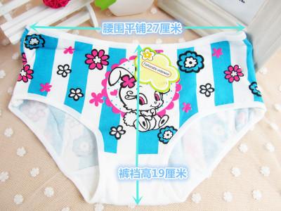 Cartoon bunny cotton cotton girls underwear Su.Anne Ciani 3975