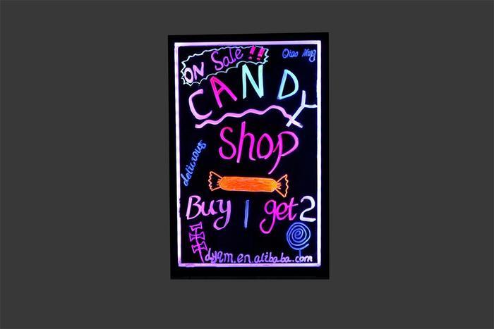 手写荧光板 led电子广告板 发光黑板批发