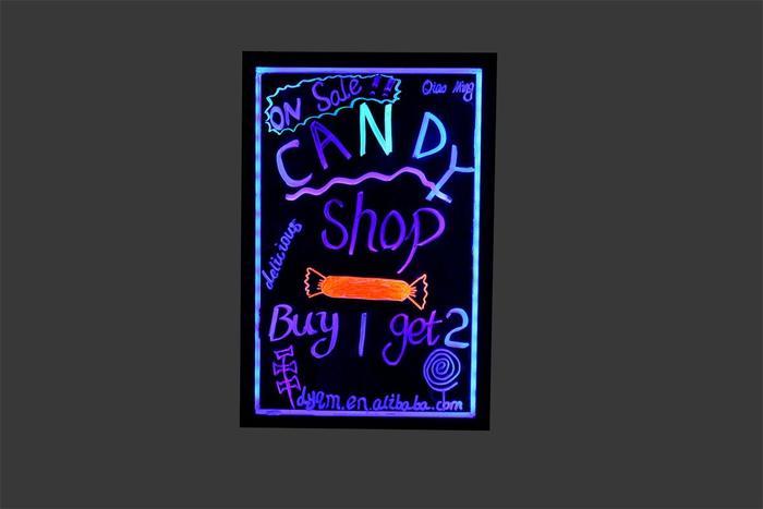 全国批发 led电子广告 发光黑板 广告荧光板