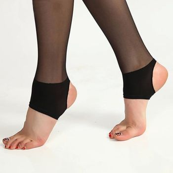 Cored wire step on color packaged individually luxury pantyhose feet pantyhose stockings panty legg