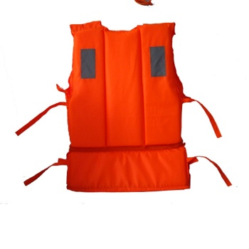 Swimsuit survival vest equipped with rescue whistle adult foam lifejackets