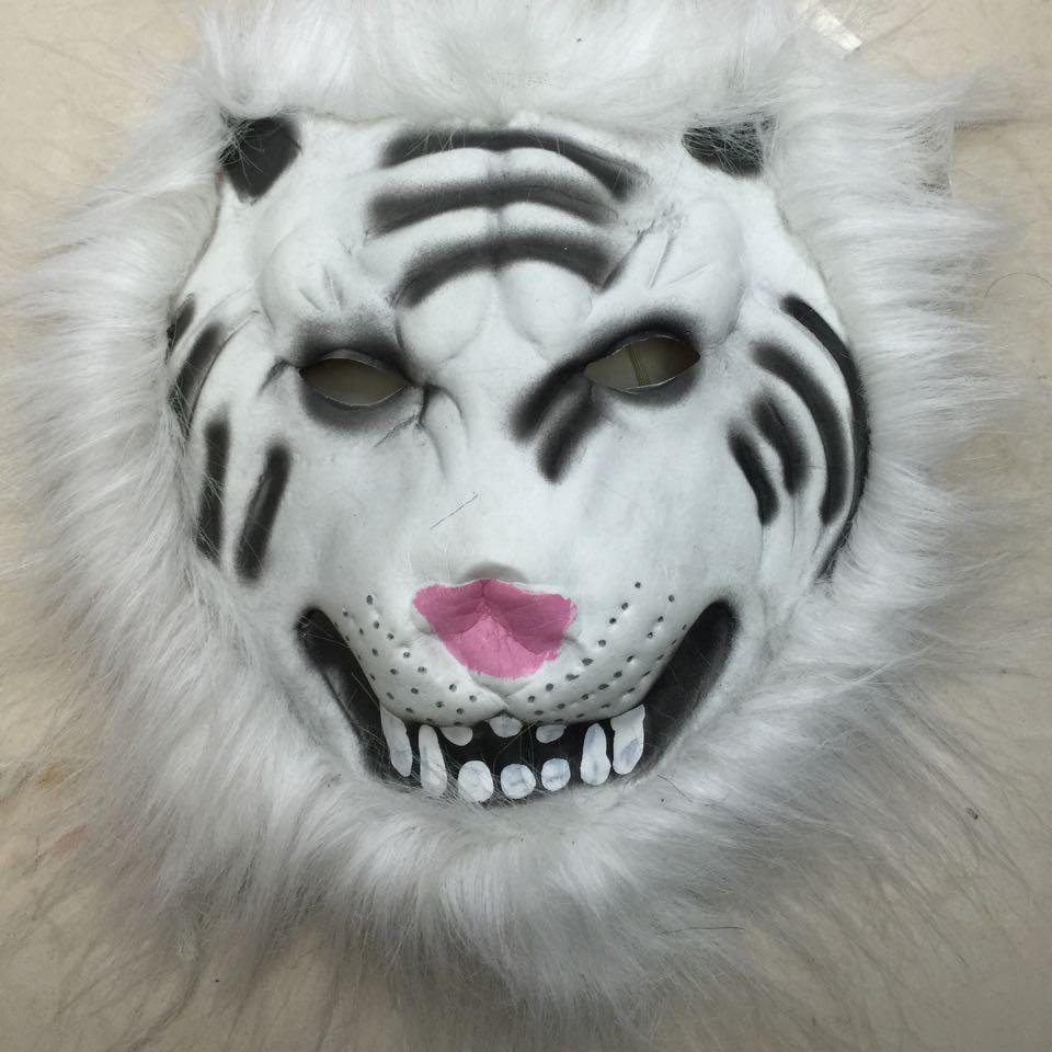 动物羽毛面具星星猴子老虎狮子绵羊兔子小狗戴起来