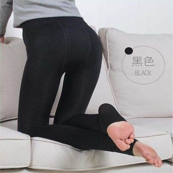 Body not sweat pants high waist high waist thickened Kara in spring and autumn cashmere leggings pa
