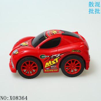 惯性汽车 卡通q版赛车贴纸 玩具汽车