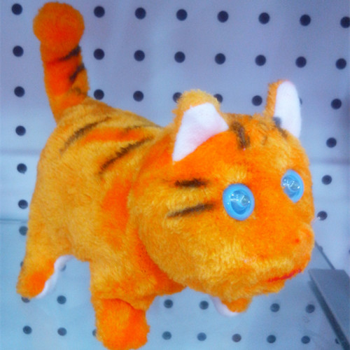 Electric electric toy plush cat toys
