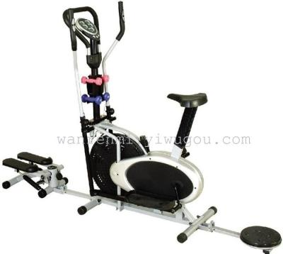 Knicks step dumbbell fan WRM2008 an indoor exercise bike