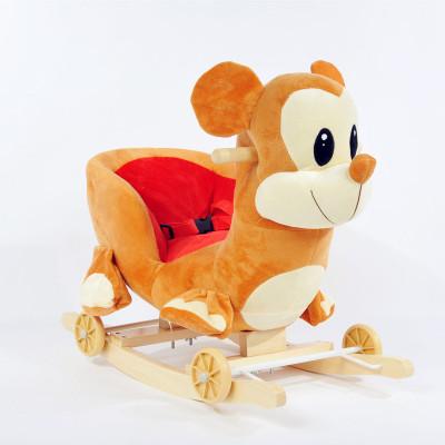 Baby rocking cradles dual music plush early childhood educational toys