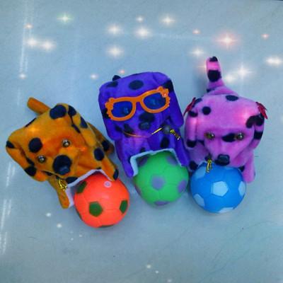 Process-color Flash roll dog plush toys